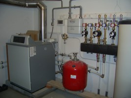 Отопление дома газом