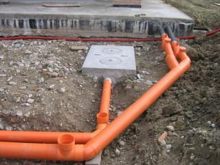 Монтаж сети внутренней канализации